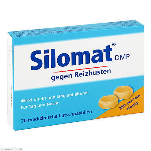 Silomat DMP gegen Reizhusten mit Honig, 20 ST, Sanofi-Aventis Deutschland GmbH GB Selbstmedikation /Consumer-Care