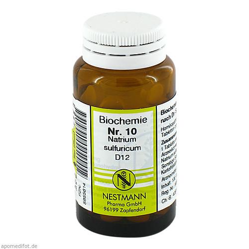 BIOCHEMIE 10 NATR SULF D12, 100 ST, Nestmann Pharma GmbH