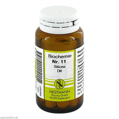 BIOCHEMIE 11 SILICEA D 6, 100 ST, Nestmann Pharma GmbH