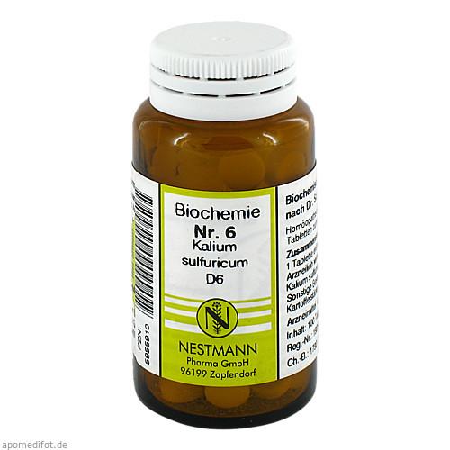 BIOCHEMIE 6 KAL SULF D 6, 100 ST, Nestmann Pharma GmbH