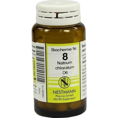 BIOCHEMIE 8 NATR CHLOR D 6, 100 ST, Nestmann Pharma GmbH