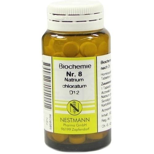 BIOCHEMIE 8 NATR CHLOR D12, 100 ST, Nestmann Pharma GmbH