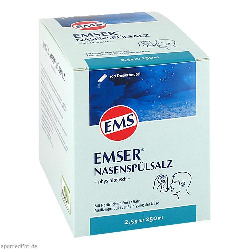 EMSER NASENSPÜLSALZ physiologisch Beutel, 100 ST, Siemens & Co