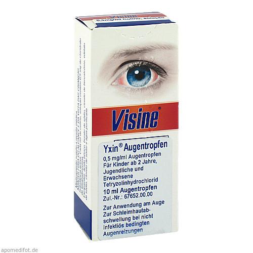 Visine Yxin, 10 ML, Pharma Gerke Arzneimittelvertriebs GmbH
