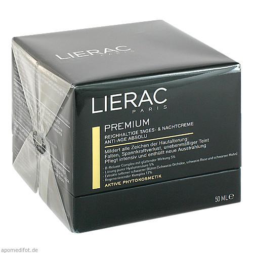 LIERAC EXCLUSIVE PREMIUM EX FALTENAUFFÜLLEN.CREME, 50 ML, Ales Groupe Cosmetic Deutschland GmbH