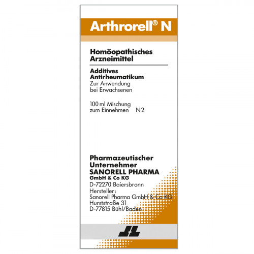 Arthrorell N, 100 ML, Sanorell Pharma GmbH & Co. KG