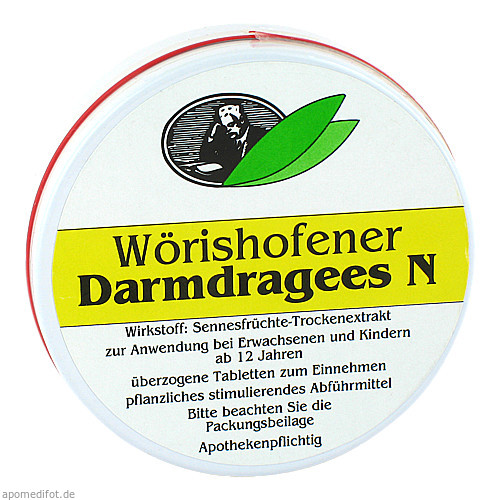 Wörishofener Darmdragees N, 50 ST, Dronania Pharmaceuticals GmbH
