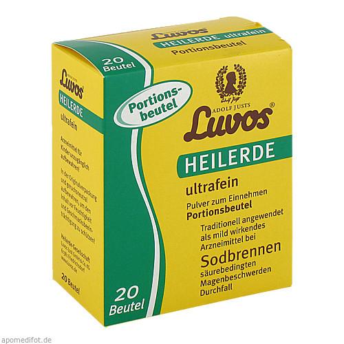 Luvos Heilerde ultrafein Portionsbeutel, 20X6.5 G, Heilerde-Gesellschaft Luvos Just GmbH & Co. KG