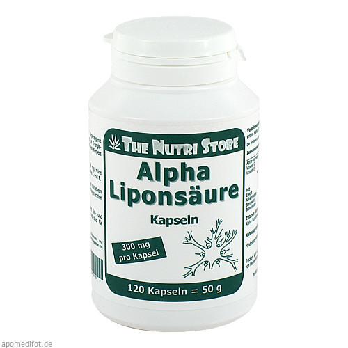 Alpha Liponsäure 300mg, 120 ST, Hirundo Products