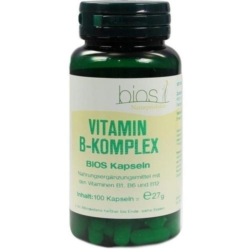 Vitamin B1 3mg Bios Kapseln, 100 ST, Bios Medical Services