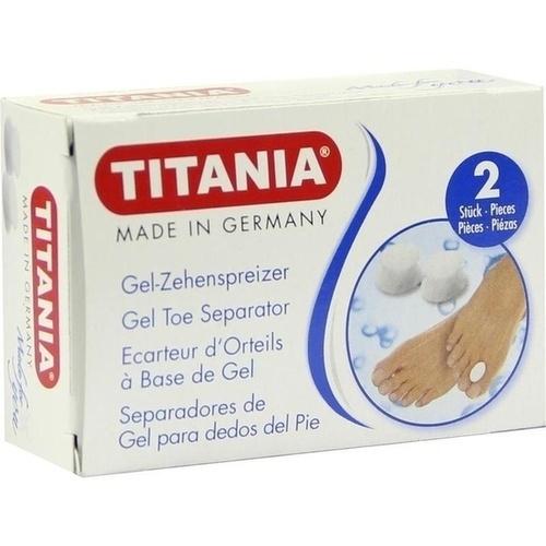 Zehenspreizer aus Gel TITANIA, 2 ST, Axisis GmbH