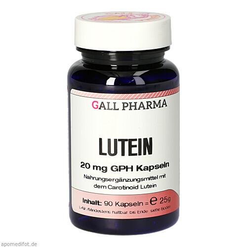 Lutein 20mg Kapseln, 90 ST, Hecht-Pharma GmbH