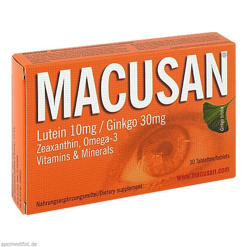 Macusan, 30 ST, Agepha Pharma S.R.O.