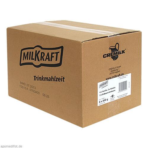 MILKRAFT Trinkmahlzeit Mischkarton, 8X660 G, Ghd Direkt I GmbH Vertriebslinie Cremilk