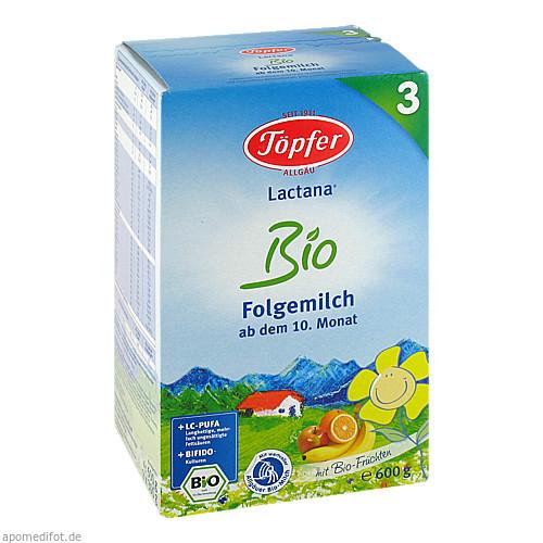 Töpfer Lactana Bio 3, 600 G, TÖPFER GmbH