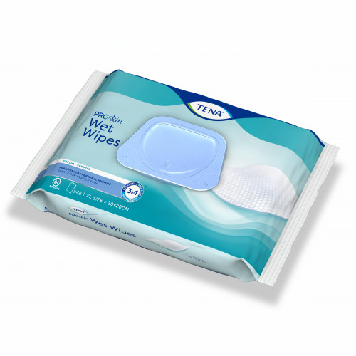 TENA Wet Wipe 3-in-1, 48 ST, Essity Germany GmbH