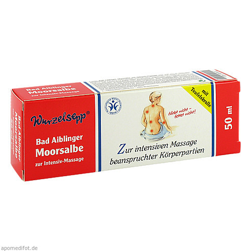 Moorsalbe Bad Aiblinger zur Intensiv-Massage, 50 ML, Herbaria Kräuterparadies GmbH