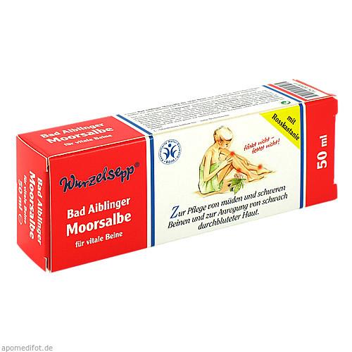 Moorsalbe Bad Aiblinger für vitale Beine, 50 ML, Herbaria Kräuterparadies GmbH