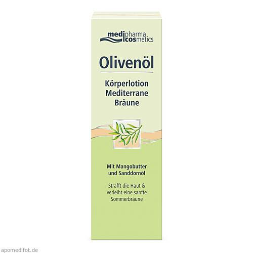 Olivenöl Körperlotion Mediterrane Bräune, 200 ML, Dr. Theiss Naturwaren GmbH