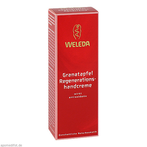 WELEDA Granatapfel Regenerations-Handcreme, 50 ML, Weleda AG