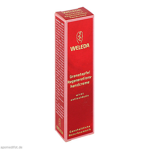 WELEDA Granatapfel-Regenerationshandcreme, 10 ML, Weleda AG