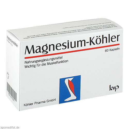Magnesium-Köhler, 1X60 ST, Köhler Pharma GmbH