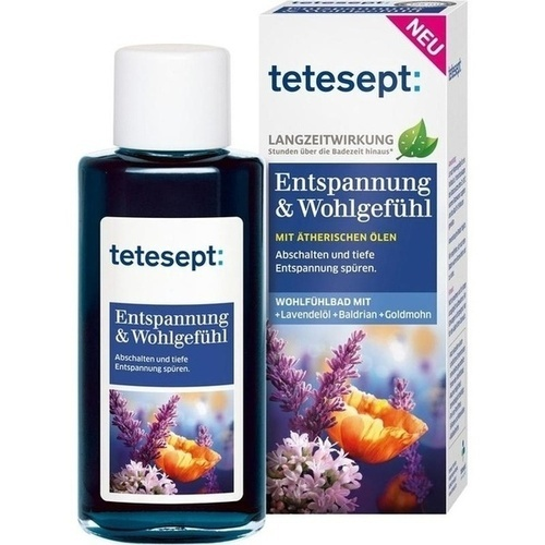 tetesept Entspannung + Wohlgefühl Bad, 125 ML, Merz Consumer Care GmbH