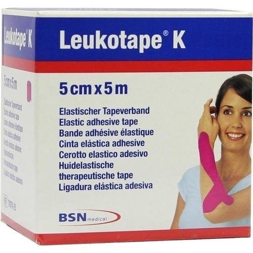 Leukotape K 5cm pink, 1 ST, Bsn Medical GmbH