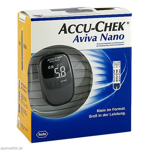 Accu-Chek Aviva Nano III Set mmol/l, 1 ST, Roche Diabetes Care Deutschland GmbH