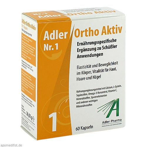 ADLER ORTHO AKTIV Kapseln Nr.1, 60 ST, Adler Pharma Produktion und Vertrieb GmbH