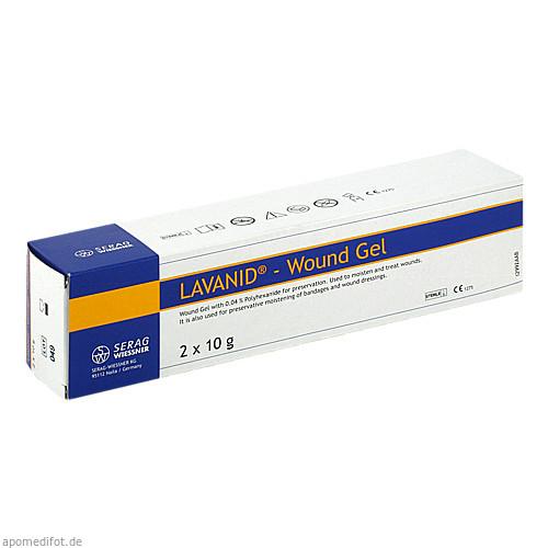 LAVANID-Wundgel, 2X10 G, Serag-Wiessner GmbH & Co. KG