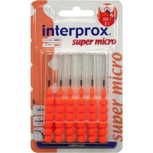 interprox reg super micro orange Interdentalbür.Bl, 6 ST, DENTAID GmbH