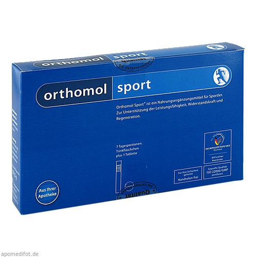Orthomol Sport Trinkfläschchen, 7 ST, Orthomol Pharmazeutische Vertriebs GmbH