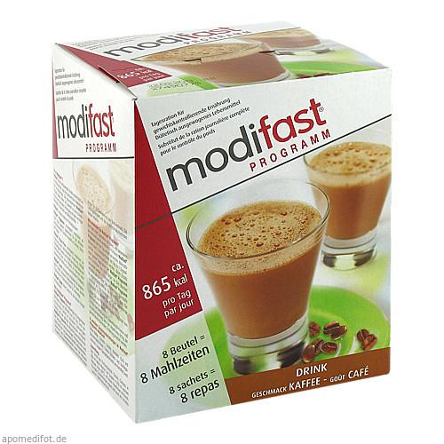 MODIFAST Programm Drink Kaffee Pulver, 8X55 G, OTC Siebenhandl GmbH