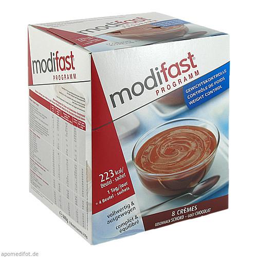 Modifast Programm Creme Schokolade, 8X55 G, Otc Siebenhandl GmbH