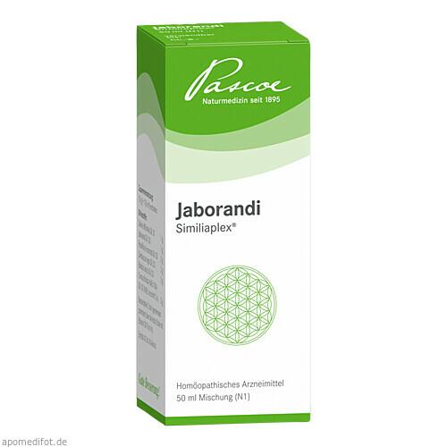 JABORANDI SIMILIAPLEX Tropfen, 50 ML, PASCOE pharmazeutische Präparate GmbH