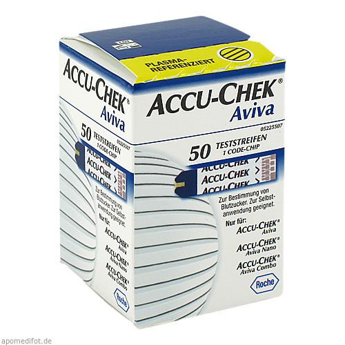 Accu Chek Aviva Plasma, 50 ST, kohlpharma GmbH