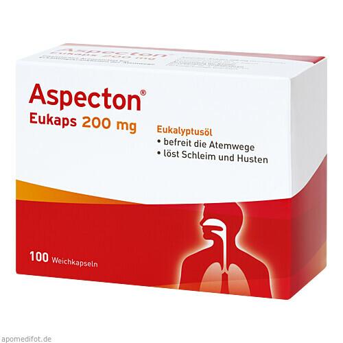 Aspecton Eukaps 200mg Weichkapseln, 100 ST, Hermes Arzneimittel GmbH