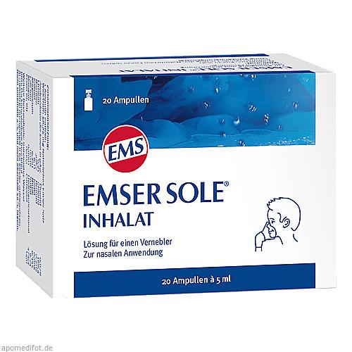 Emser Sole Inhalat, 20 ST, Siemens & Co