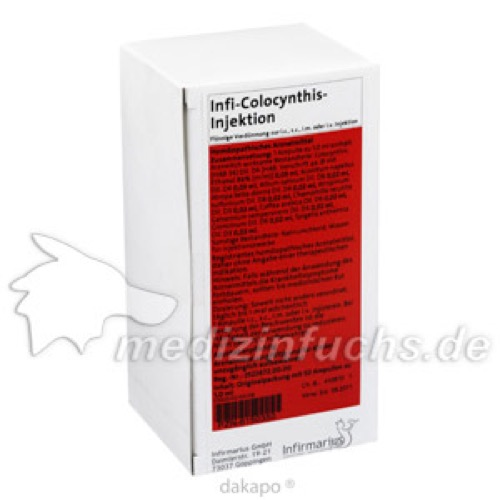 INFI COLOCYNTHIS INJEKTION, 50X1 ML, Infirmarius GmbH