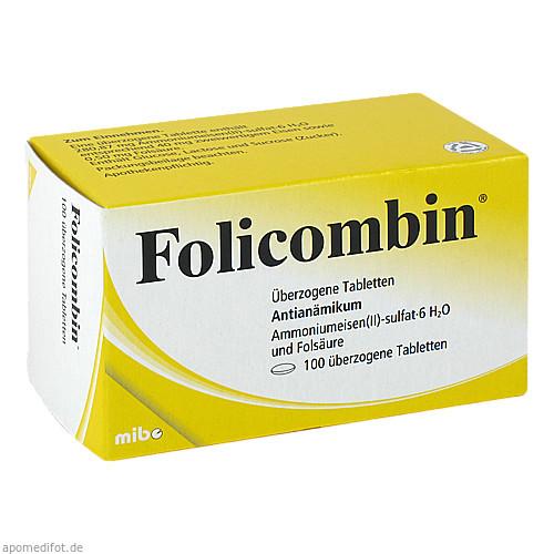 FOLICOMBIN, 100 ST, Mibe GmbH Arzneimittel