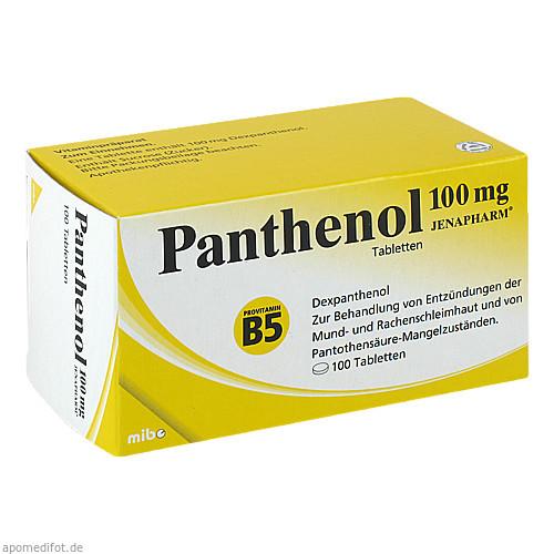 PANTHENOL 100MG Jenapharm, 100 ST, Mibe GmbH Arzneimittel