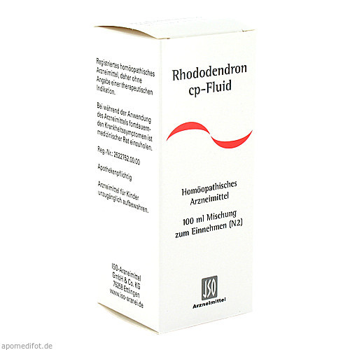 RHODODENDRON CP FLUID, 100 ML, Iso-Arzneimittel GmbH & Co. KG