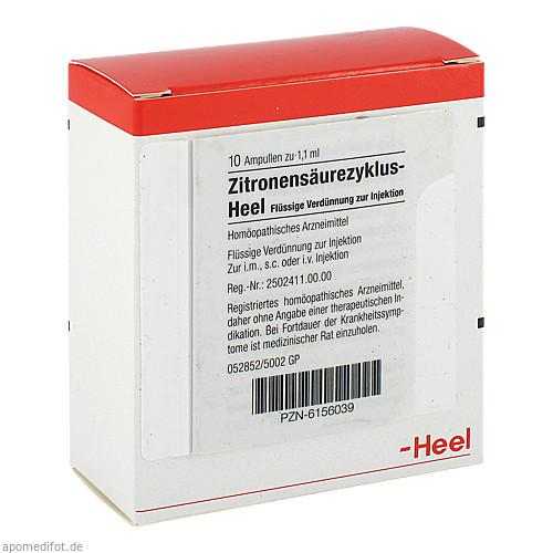 Zitronensäurezyklus-Heel, 10 ST, Biologische Heilmittel Heel GmbH