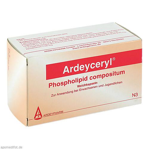 ARDEYCERYL Phospholipid compositum Kapseln, 120 ST, Ardeypharm GmbH