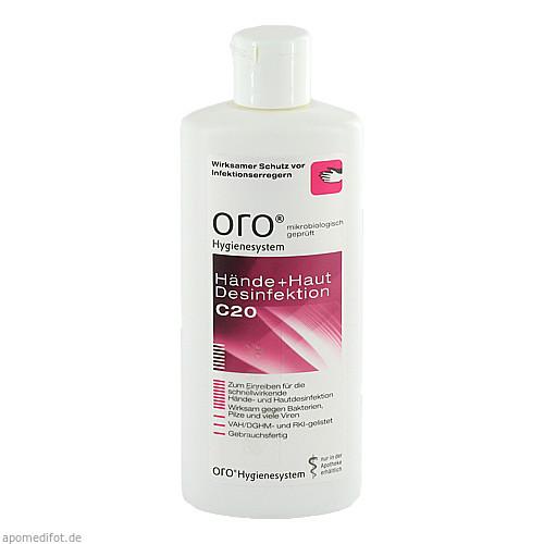 oro C20 Hände + Hautdesinfektion, 125 ML, Orochemie GmbH + Co. KG