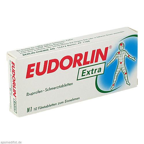 Eudorlin extra Ibuprofen-Schmerztabletten, 10 ST, Berlin-Chemie AG