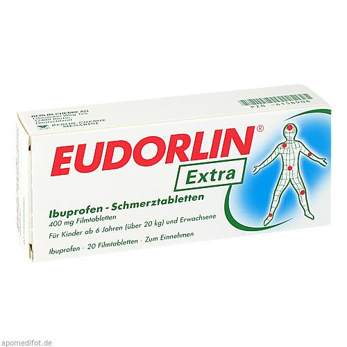 EUDORLIN extra Ibuprofen Schmerztabl., 20 ST, BERLIN-CHEMIE AG