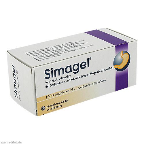 SIMAGEL, 100 ST, Mibe GmbH Arzneimittel