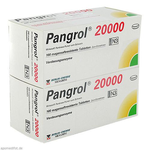 PANGROL 20000, 200 ST, Berlin-Chemie AG